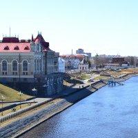 Рыбинский музей на р.Волга :: Владислав Пересёлов