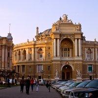 Оперный театр в Одессе :: Надежда Грибута