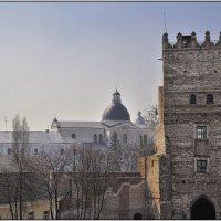 Луцк. Въездная башня замка Любарта. Вид со стены. :: Андрей Ясносекирский