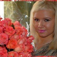 ...розовые розы...) :: Ксюша Ксюшкина