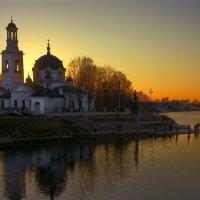 закат на Неве :: Владимир Матва