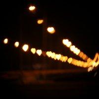 Влюбленные фонари :: Марина Кулымова