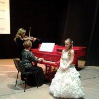 Перед конкурсом  (последняя репетиция) :: Елена Бушуева