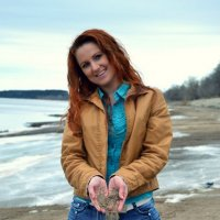 Весенний пляж :: Mariya Bryuchova