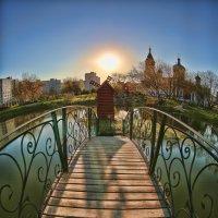 Заход солнца :: Сергей Кудрявцев