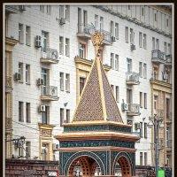 Арочный мемориал Александру II в Кремле. Эпоха Александра II. :: Михаил Малец