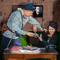 Допрос с пристрастиемю. :: Виктор Седов
