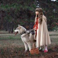 Красная шапочка и Добрый волк :: вячеслав