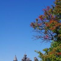 Август на острове Кижи :: Марина Сорокина