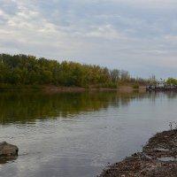 Река Урал осенью :: Александр Облещенко
