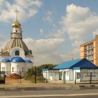 Москва. Церковь Илии Пророка в Качалове. :: Александр Качалин