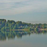 На Волге , правый берег. :: Святец Вячеслав