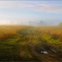 Осенний рассвет в деревне... :: Александр Никитинский