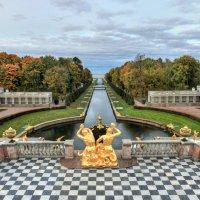 Осень в Петергофе :: Сергей Григорьев