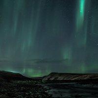 Ночной пейзаж.Чукотка. :: Юрий Харченко