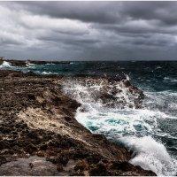"""""""Штормит""""...Плайя Ранчо Луна...Карибское побережье Кубы! :: Александр Вивчарик"""