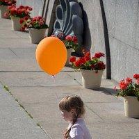 Оранжевый шарик. :: Елена