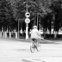 велосипедист :: Анатолий Бушуев