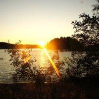 Вид  с острова Сулосаари :: Елена Павлова (Смолова)