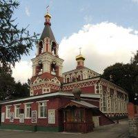 Москва. Церковь Параскевы Пятницы в Качалове. :: Александр Качалин