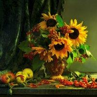 Как отблеск лета в мир осенний... :: Валентина Колова