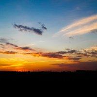На закате :: Дмитрий Долгов