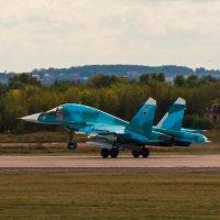МАКС 2015. Су-34 :: Андрей Воробьев