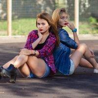 Олеся и Настя :: Сергей Иванов