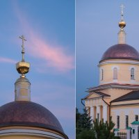 ...Храм в Радонеже :: Elena Tatarko (фотограф)