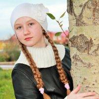 Родная березка :: Полинка Шаморгина