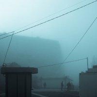 Утро туманное... :: Сергей Сердечный