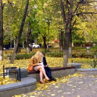 Осенняя встреча... :: Елена