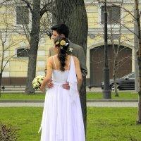 В день свадьбы... :: Елена