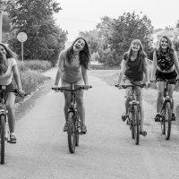 Веселая вело-прогулка :: Роман