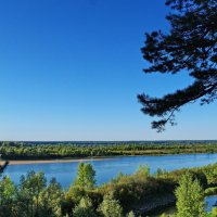 Утро на реке. :: Владимир Михайлович Дадочкин