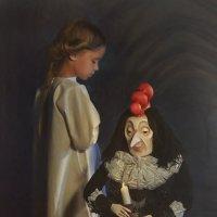 Черная курица :: Надежда Шибина