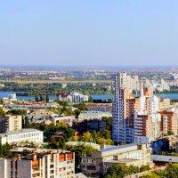 Мой город с высоты.. :: Юрий Стародубцев
