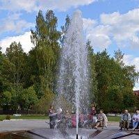 1000-летие Старой Руссы. Муравьёвский фонтан. :: Sergey Serebrykov