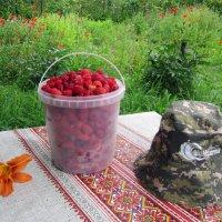 Урожай малины был хорош ! :: Мила Бовкун