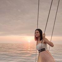Девушка и море :: Виолетта