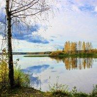 Осенний пейзаж :: Александр Щеклеин