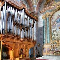 Орган в римской базилике Санта-Мария-Дельи-Анджели-Э-Деи-Мартири :: Денис Кораблёв