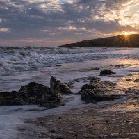 Рассвет на Азовском море :: Панова Ольга