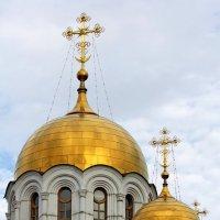 Купола в России  кроют чистым золотом.... :: Natali Lubich