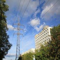 Городской пейзаж . :: Мила Бовкун