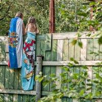 А у соседей интересней... :: Ирина Данилова