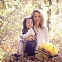 Мама и дочка :: Гульназ Хаматова