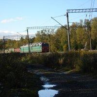 Встречный поезд :: Валентин Когун