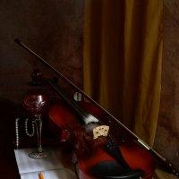 Ненаписанная музыка для одинокого фужера :: Валерий Чернов