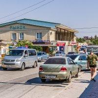 Крым, Коктебель, улица Ленина :: Николай Ефремов